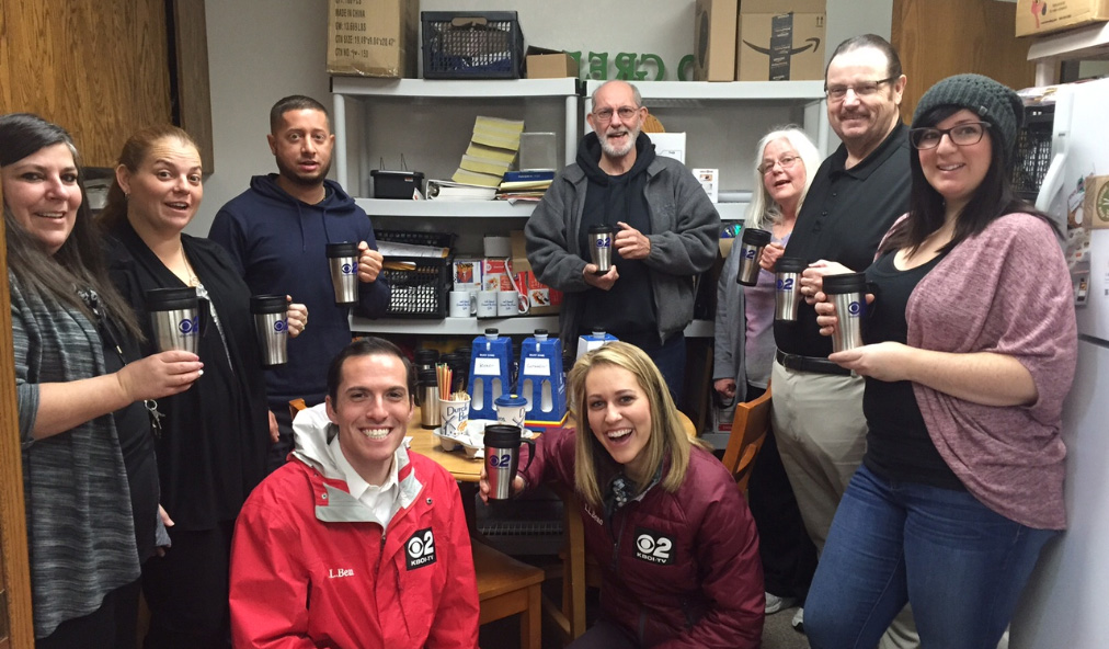 Mugshot Mondays: This week's winner is SHIP Housing in Boise! Kelsey Anderson & Bryan Levin  helped deliver free Dutch Bros. Coffee and KBOI mugs! Want your business to be next? Enter HERE: http://bit.ly/1UoKo3X