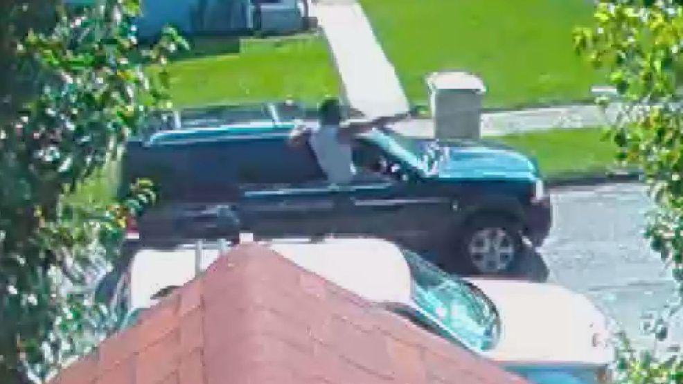 Surveillance camera captures shooting in South Bend neighborhood