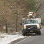 Utility crews continue to restore power after Wednesday's windstorm