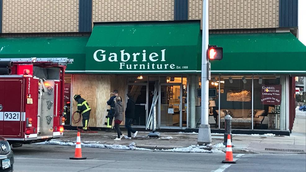 Car Crashes Into Appleton Furniture Store