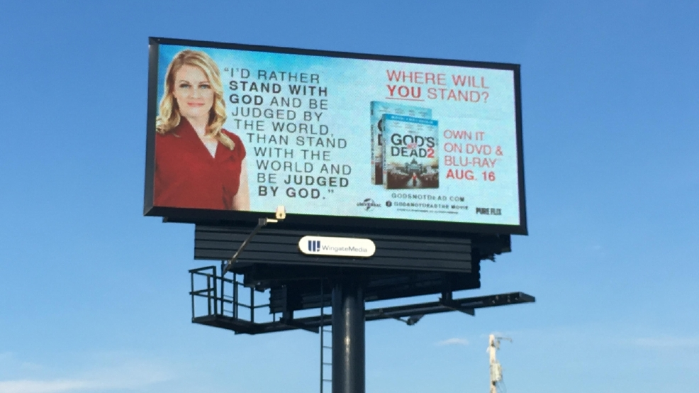 Movie billboard considered too controversial for RNC finds home in Tennessee