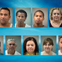 All mugshots of suspects arrested in animal sacrificing incident released