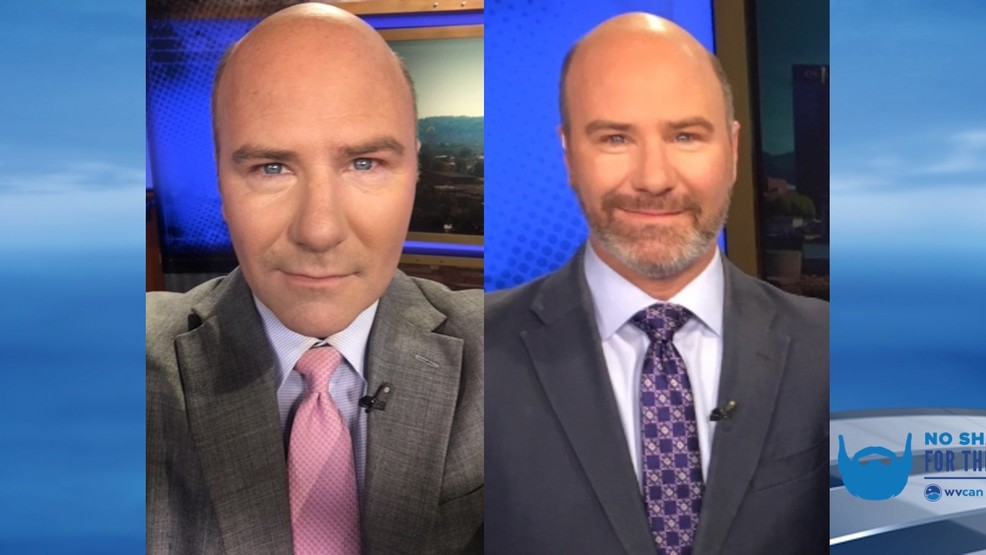 No close shaves here: Eyewitness News anchor grows beard to raise