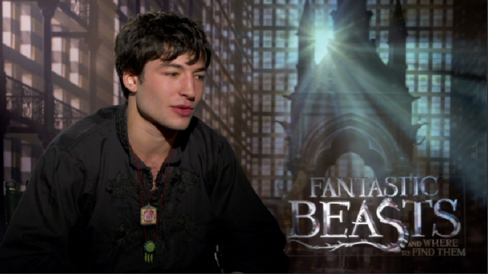 'Fantastic Beast' Ezra Miller dives deep into healing power of J.K. Rowling