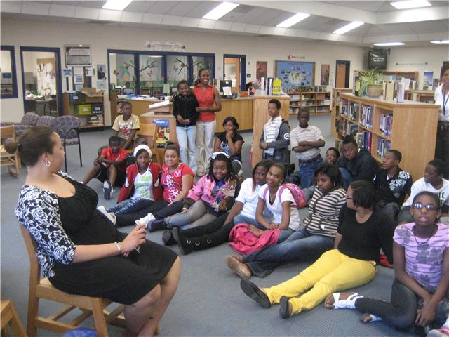 3/22/11...W.A. Perry Middle School Sixth Graders