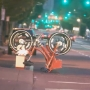 Bicycles on new BIKETOWN rack flipped into traffic lane