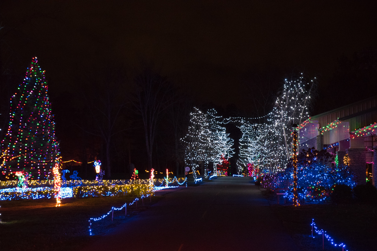 Now through January 1, 2017, Pyramid Hill Sculpture Park & Museum is open every night, filled with illuminated decorations for their 2016 Holiday Lights on the Hill event. Depending on the day, admission is $20-$25 per carload. ADDRESS: 1763 Hamilton Cleves Road, Hamilton, OH 45013 / Image: Sherry Lachelle Photography // Published: 12.6.16