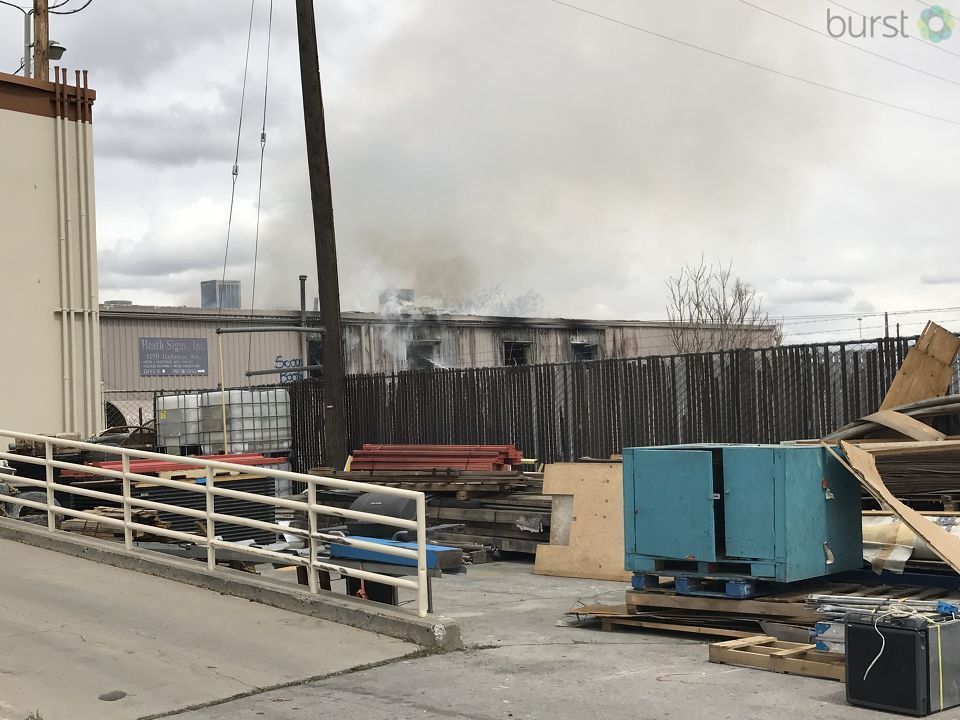 Vacant Sparks building catches fire for 5th time in a month, officials call it suspicious
