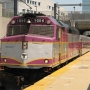 Cyclist fatally struck by commuter rail train