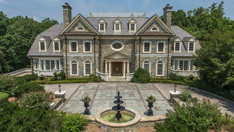 a 16 000 square foot georgian mansion just hit the market in mclean
