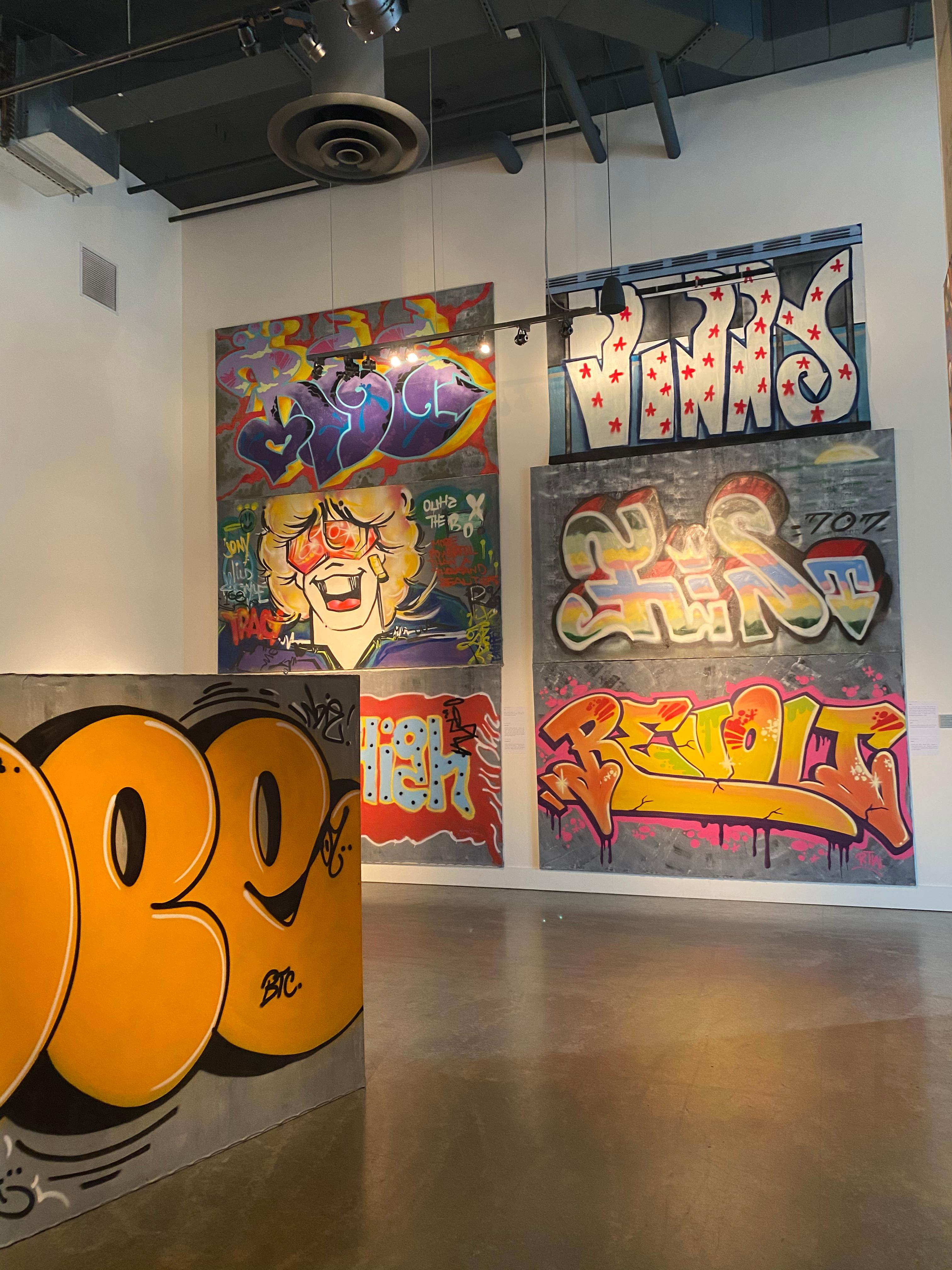 <em>American Graffiti: From the Streets to the Canvas</em>{&nbsp;}features a one of a kind, comprehensive exposition of the genre. The exhibit will allow the community a rare public viewing of 85 spectacular Graffiti Art originals held in a private collection. (Text and Image: Schack Art Center)