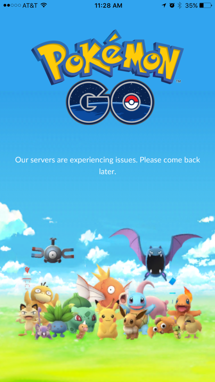 You'll need a good connection to play the game. Users reported difficulties downloading the app, and some were unable to get it up and running Thursday morning. (July 7, 2016/KOMO PHOTO)