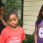 Sisters of little girl hit by stray bullet beg adults to stop violence