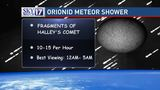 Orionid Meteor Shower peaks this weekend, here's how to watch the show