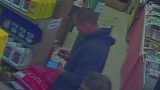 Man caught on camera swiping shop owner's keys