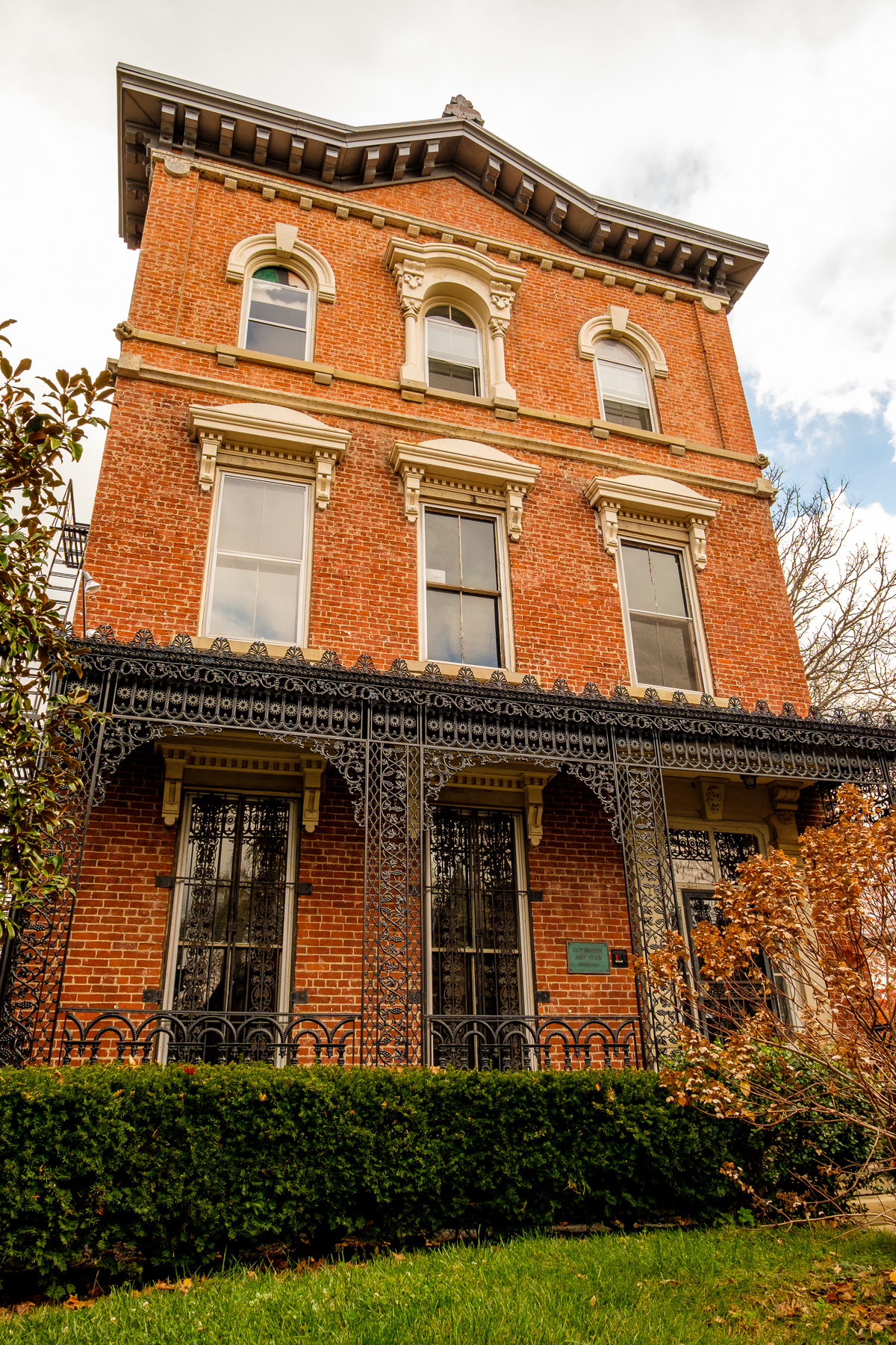 Two Victorian mansions, a 1920s auditorium, and lush, landscaped grounds comprise the Baker Hunt Art & Cultural Center in the Historic Licking River Neighborhood of Covington. Over 40 instructor-based classes, ranging from acrylic painting to social dancing are offered at the campus. ADDRESS: 620 Greenup Street, Covington, KY 41011 / Image: Daniel Smyth // Published: 12.11.16