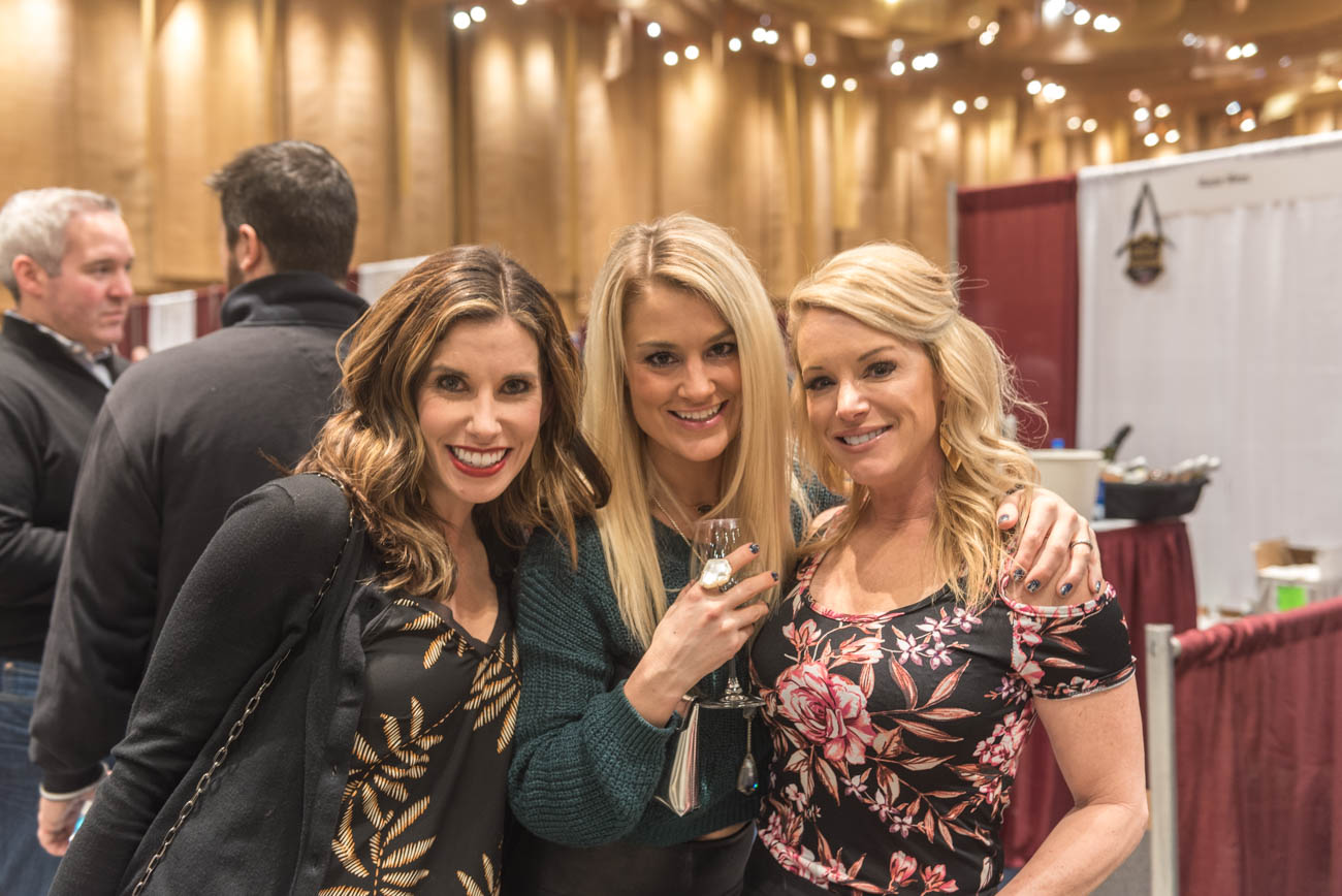 Stephanie Sedra, Amy Shahandeh, and Gina Downs{ }/ Image: Mike Menke // Published: 3.10.19{ }