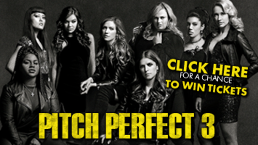 Pitch Perfect 3 Ticket Giveaway
