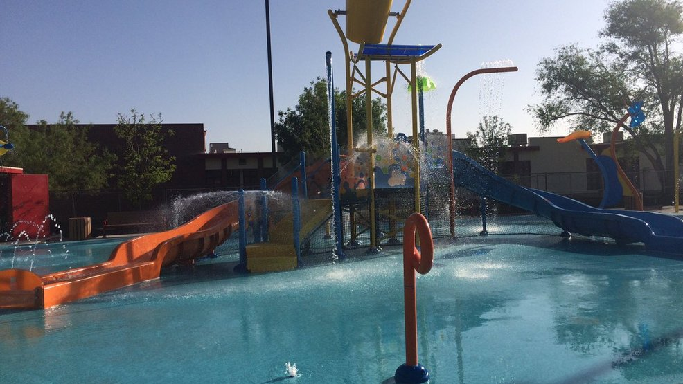 El paso newest spray park opens saturday in the lower Pavo real swimming pool el paso tx hours