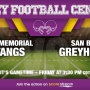 Listen Live: McAllen Memorial Mustangs vs. San Benito Greyhounds
