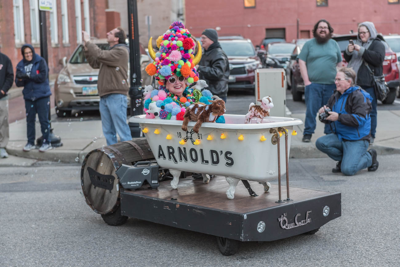Pictured: Pam Kravetz / Event: Bockfest Parade (3.2.18) / Image: Mike Menke // Published: 4.5.18