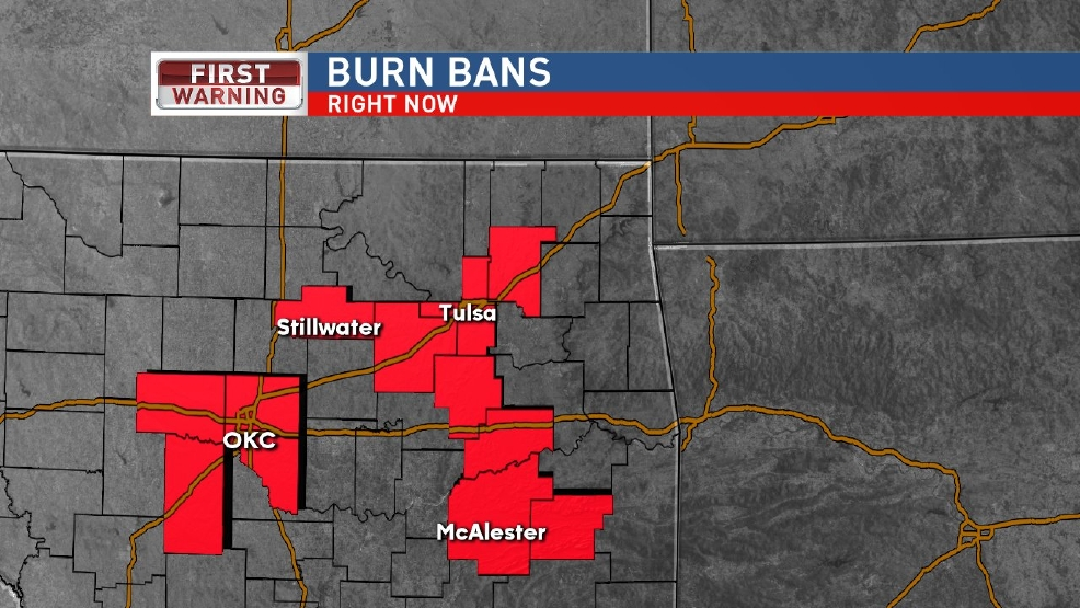Latest Burn Bans