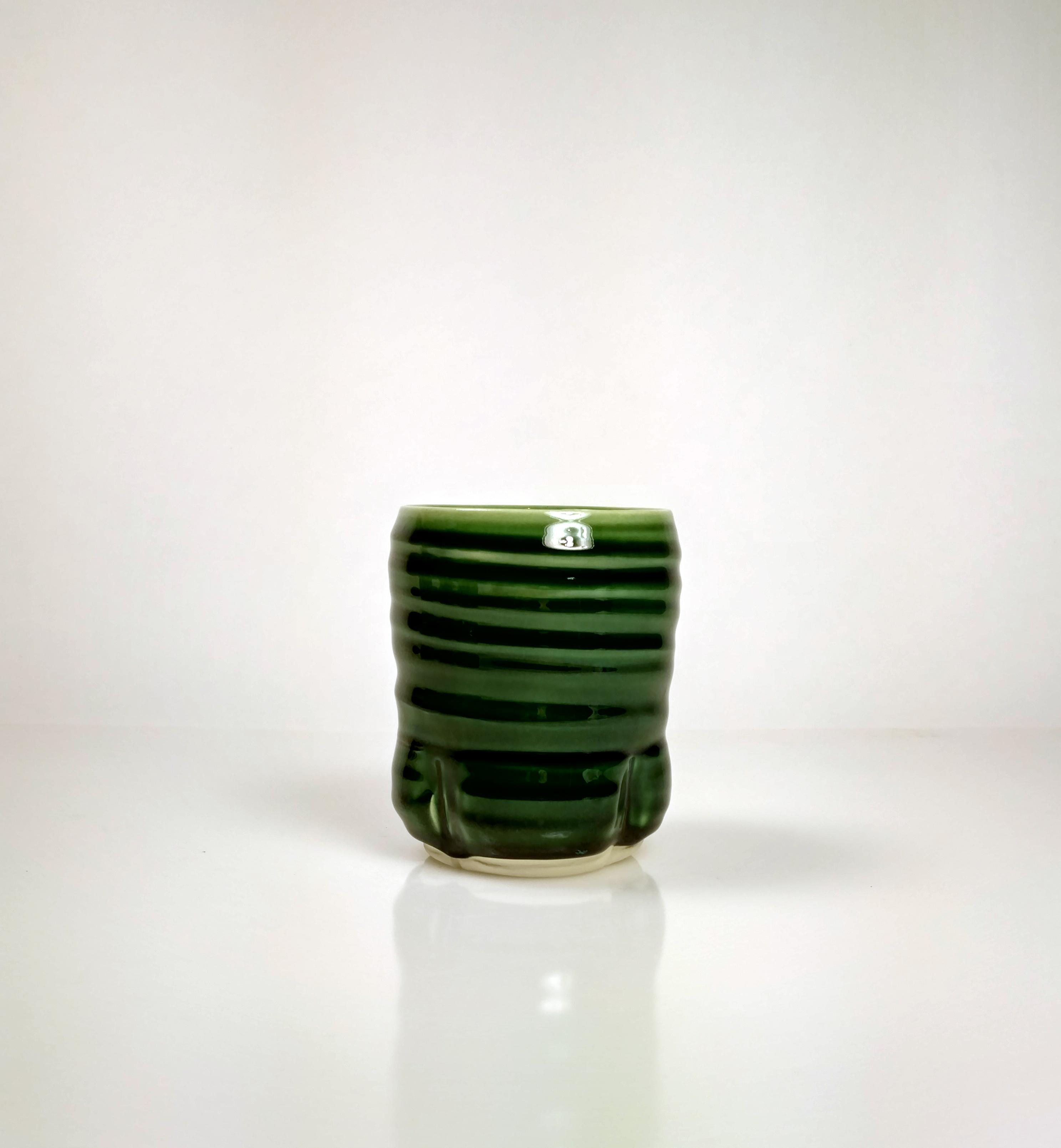 Green Tea Cup by Hollow Work // Price: $28 each // Buy online // www.hollowwork.com // (Image: Hollow Work)