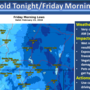 Freezing temperatures overnight with more snow in forecast for parts of southwest Oregon