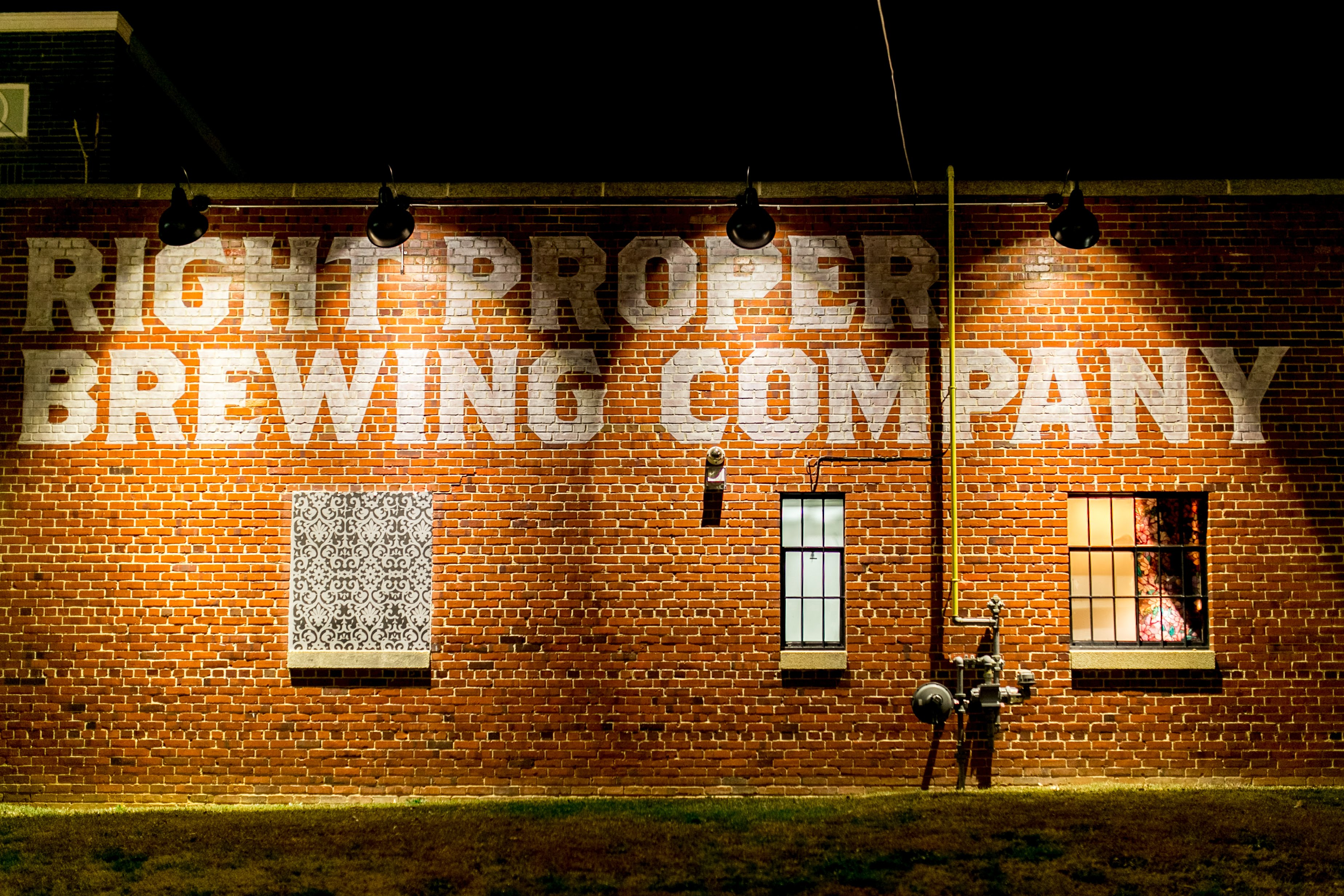 But our favorite part is that they held their reception at Right Proper Brewing Company's production house and tasting room in Brookland.{ } (Image: Brandon C. Photography)