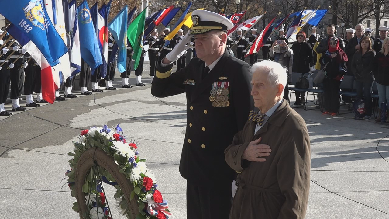 Last living witness of Japanese surrender in WWII marks Pearl Harbor Day (ABC7)