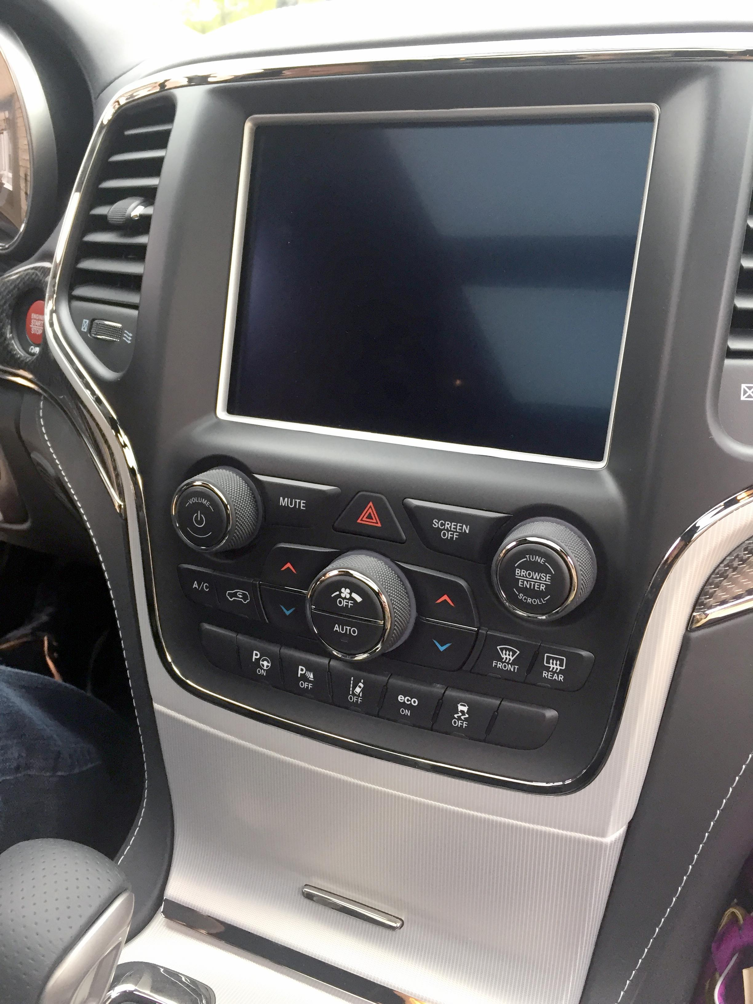 2018 jeep android auto. simple jeep the new uconnect in the 2018 jeep grand cherokee trackhawk will have an  84inch inside jeep android auto