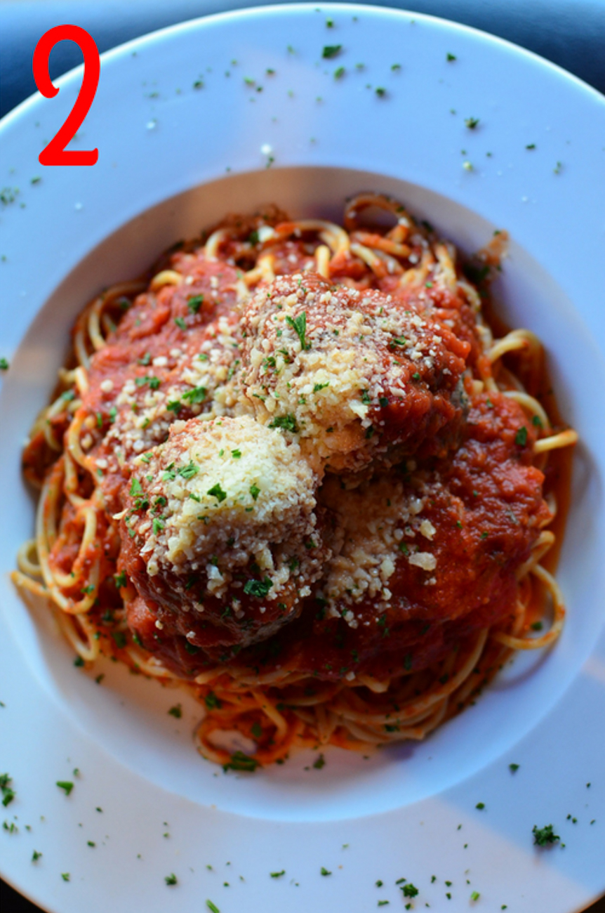 #2 - Ya gotta go to Padrino's in Milford. It's the Italian joint you can go to any day of the week and have an amazing, filling meal. We're talking spaghetti and meatballs, pizzas, and a staggering amount of craft beer. / Image: Leah Zipperstein, Cincinnati Refined