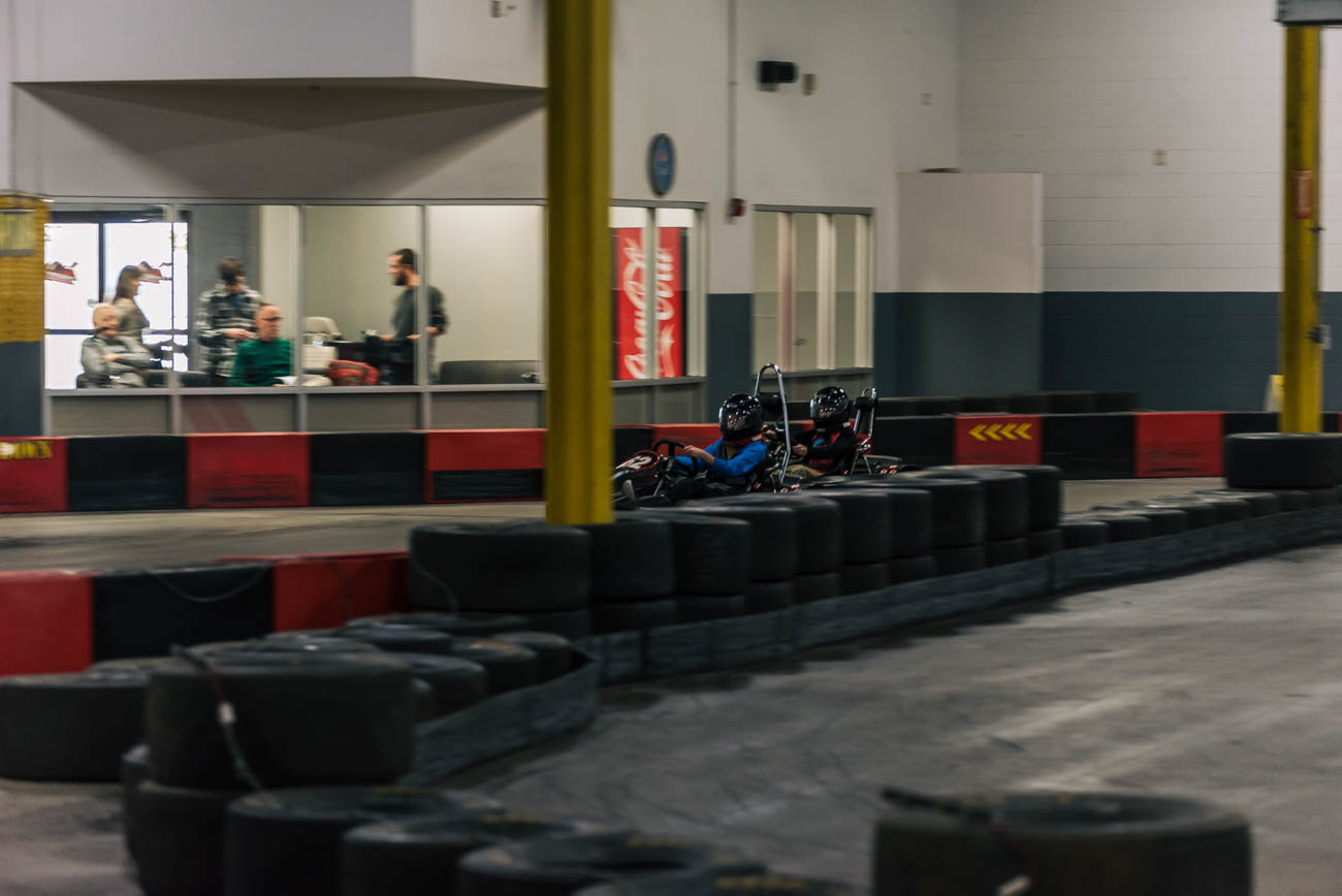 Located in Springdale, Full Throttle Indoor Racing allows racers ages 4-94 to zip around a winding track in low-emission, gas-powered karts. The 8-minute sessions pit drivers against the clock to see who can achieve the fastest lap. The karts come in all shapes and sizes to accommodate different body types and those with disabilities; karts such as two-seater, hand-controlled, youth, and micro karts are available to suit different ages and needs. ADDRESS: 11725 Commons Dr (45246) / Image: Mike Menke // Published: 1.3.17