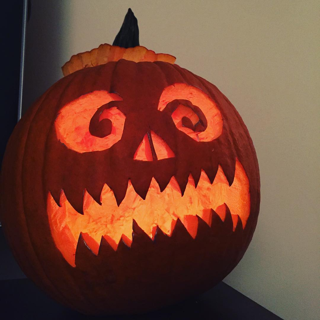 "IMAGE: IG user @l_wilfong / POST: ""I'm ready for Halloween now!!!"" / PUBLISHED: 10.21.16"