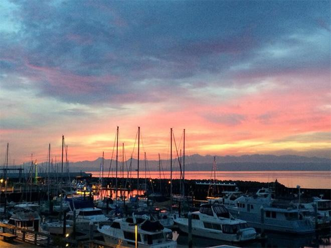 Edmonds sunset (Photo: Michelle Sistek)