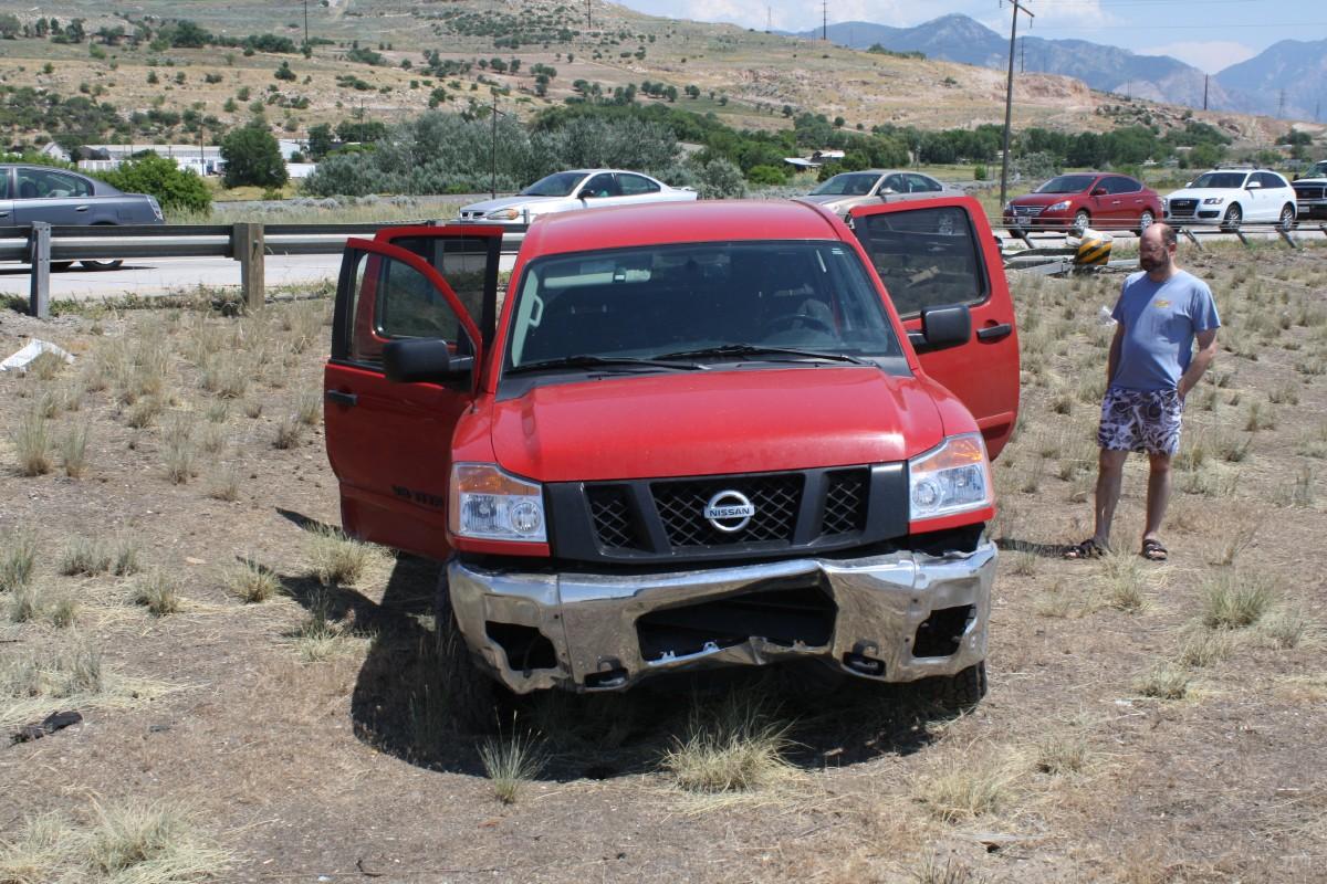 Single-car crash turns into series of wrecks on I-15 north ...