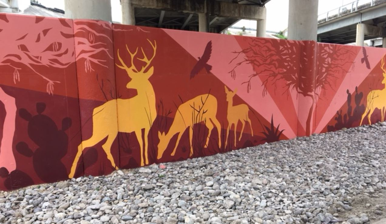 Four seasons murals now show the way to historic san for 4 seasons mural