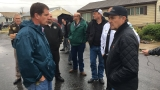 Gov. Herbert tours damage in Weber County as residents allowed to return home