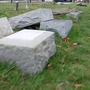 Headstones damaged at Providence cemetery; Family demands answers