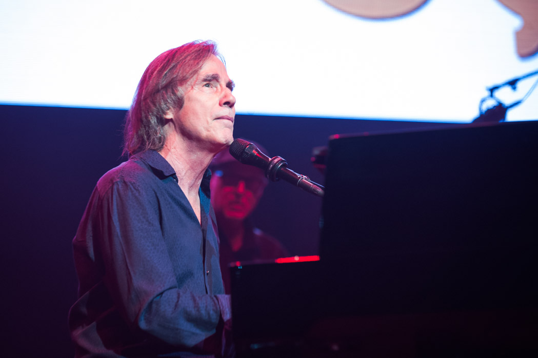 Jackson Browne, who has recorded songs at Meriwether Post Pavilion, closed out the evening. (Photo by Richie Downs, courtesy of Merriwether Post Pavilion)