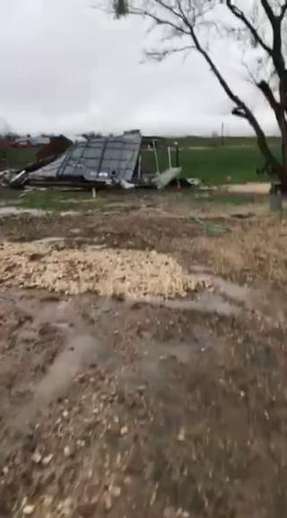 (Storm Damage - Elguin, Texas. by Carlos Corado)Thumbnail