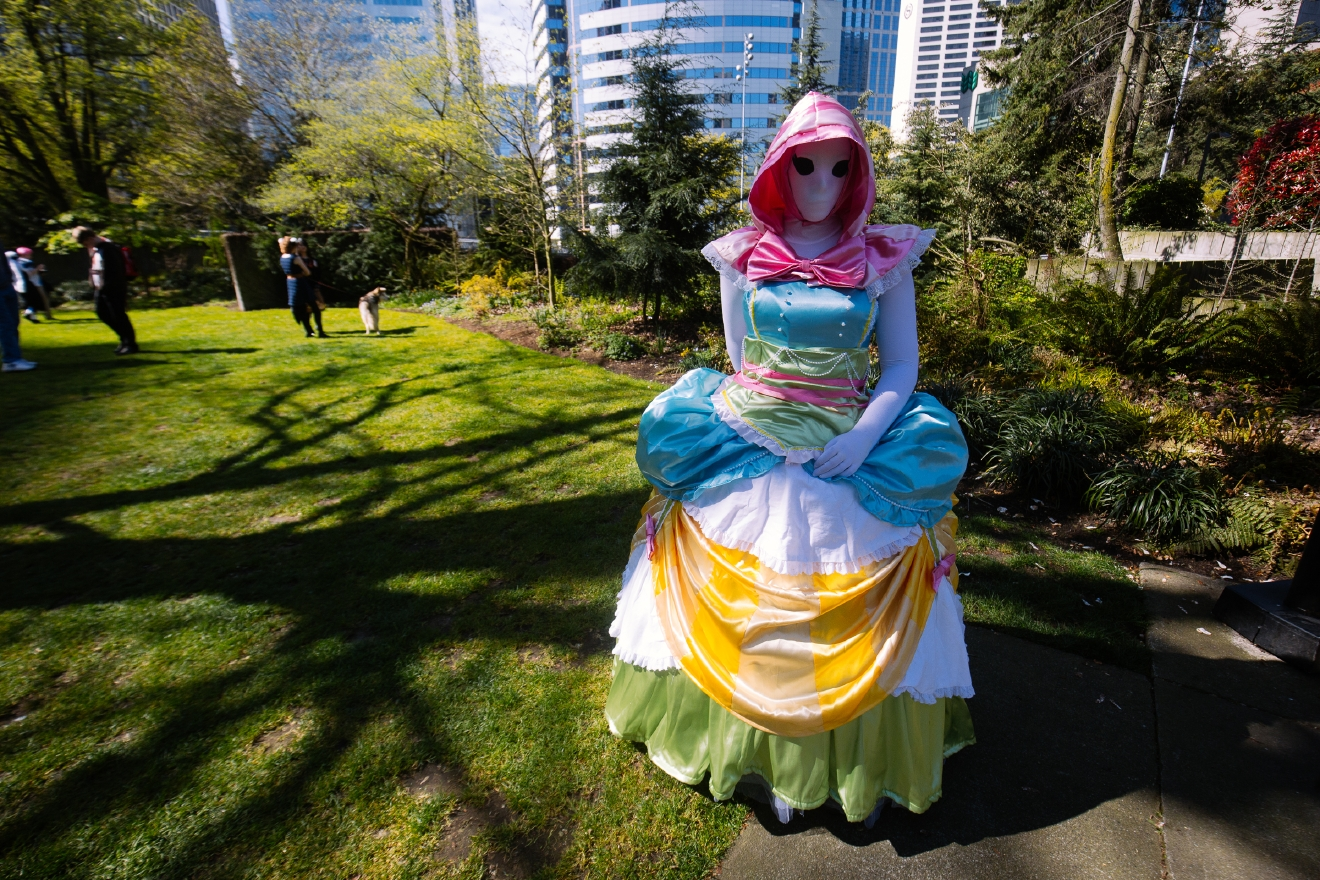 Sakura-Con is the largest and most attended anime convention in the Northwest and is held right here in our very own Seattle. The convention takes place at Washington State Convention Center and runs through the weekend from March 25th-27th. Sakura-Con hosts over 23,000 individuals, and most people attend all three days. Fans purchase anime, attend panels, dress up in elaborate cosplay (costume play) and more over the weekend. March 25th 2016 (Joshua Lewis / Seattle Refined)