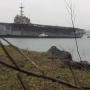 Historic aircraft carrier leaves Bremerton, will be dismantled in Texas