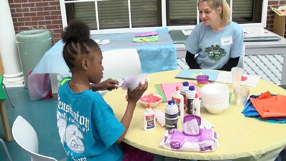 Camp Rise Above gives children at MUSC camp experience