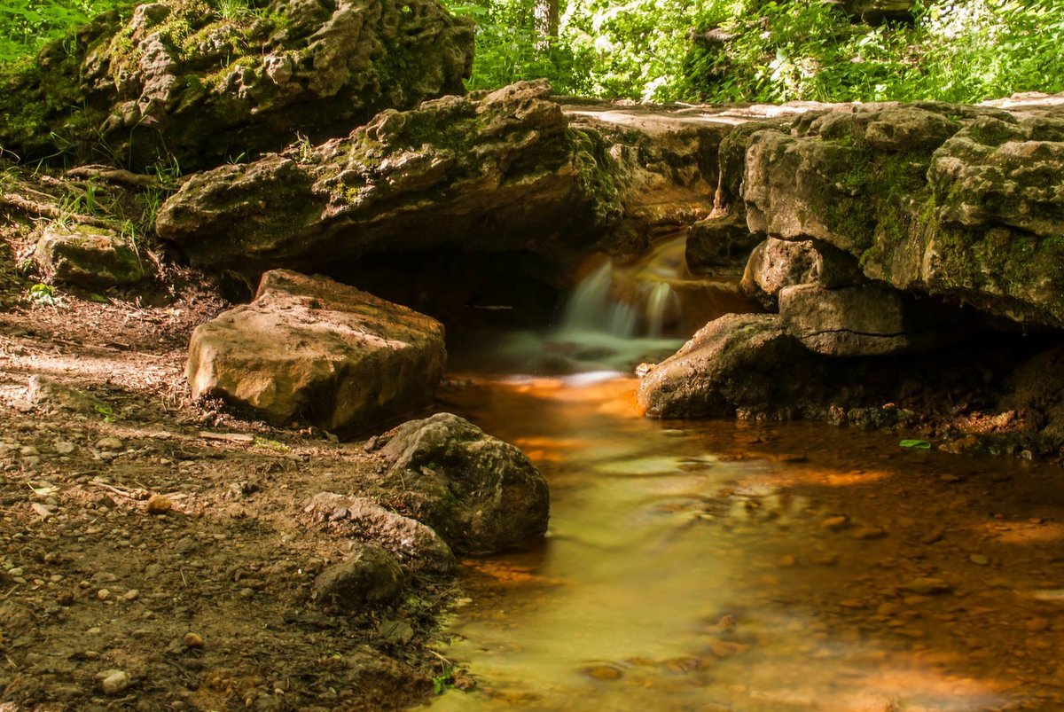 "Story title - ""Yellow Springs: A Day Trip Worthy of Your Ohio Bucket List"" /  Location: Glen Helen Nature Preserve /  Image courtesy of Yellow Springs Chamber"