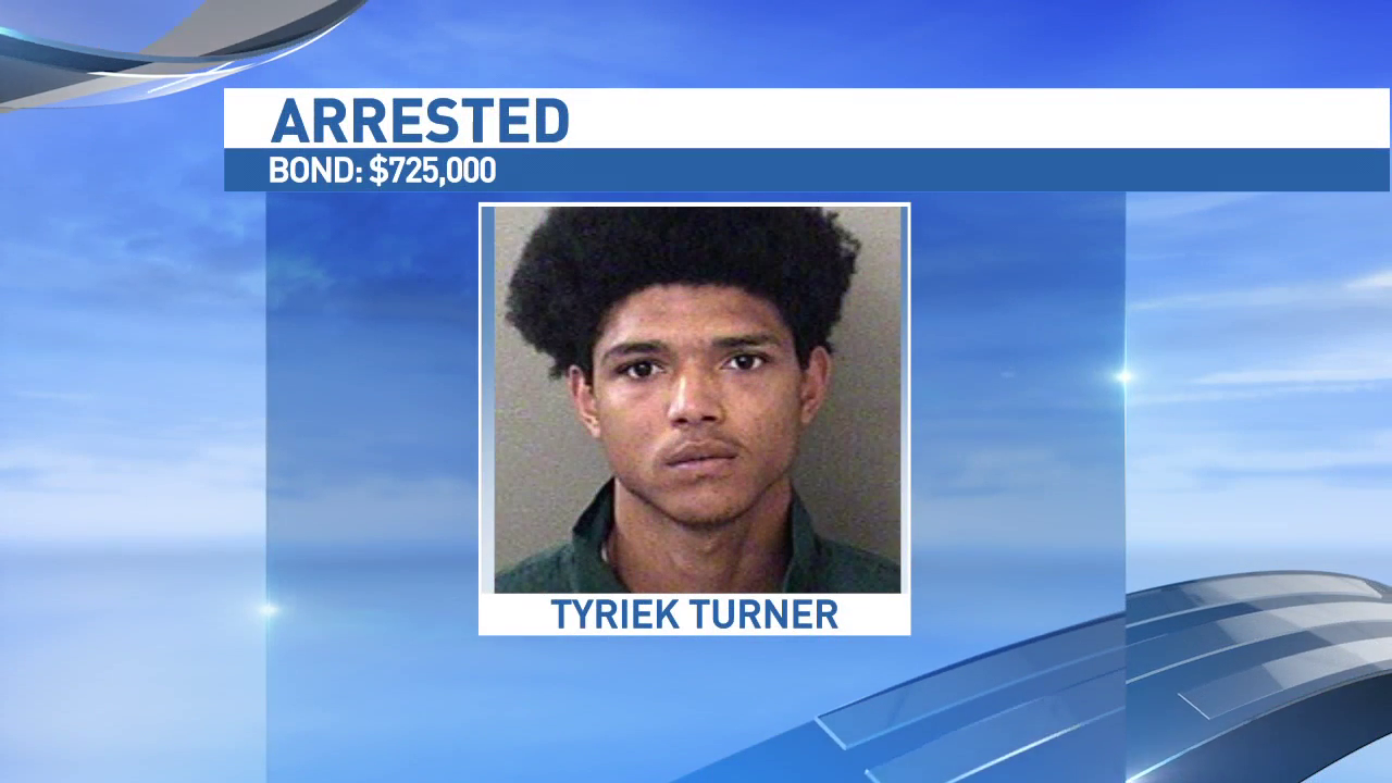 Tyriek Turner. Source: Escambia County Jail