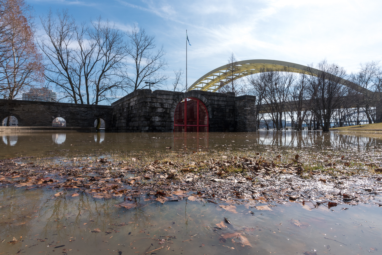 The flood from Sunday, February 18, 2018{&amp;nbsp;}/ Image: Phil Armstrong, Cincinnati Refined // Published: 2.21.18<p></p>