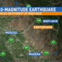 Magnitude-3.0 earthquake strikes in Mariposa County
