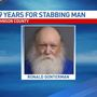 Man gets 19 years for stabbing man at wildlife area