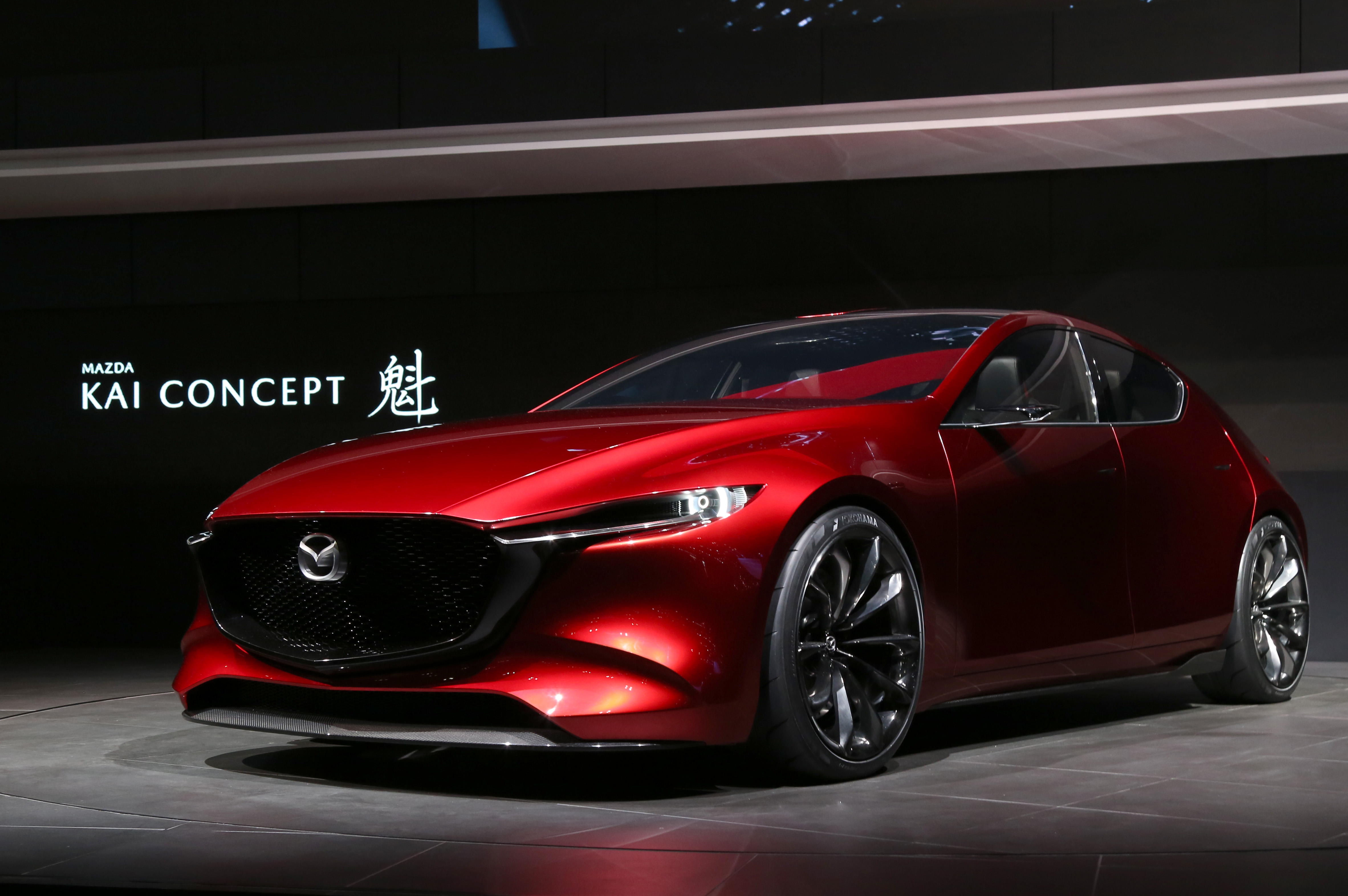 Tokyo Motor Show 2017  Featuring: Mazda KAI Concept Where: Tokyo, Japan When: 25 Oct 2017 Credit: Yukio Tomita/Future Image/WENN.com  **Not available for publication in Germany**